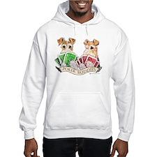 Fox Terrier Poker Buddies Hoodie