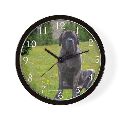 Mastiff 49 Wall Clock