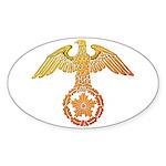 kyokujitu Sticker (Oval)