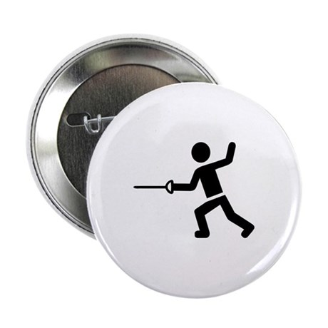 """Fencing 2.25"""" Button"""