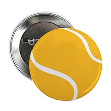"Tennis ball 2.25"" Button"