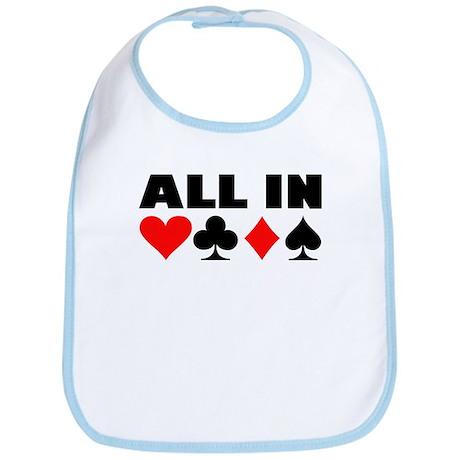 All in poker Bib