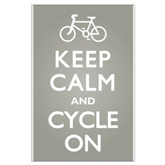 Keep Calm Cycle On Posters