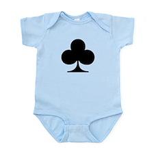 Poker clubs Infant Bodysuit