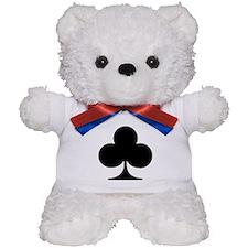 Poker clubs Teddy Bear