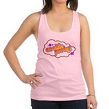 Cookie party Womens Racerback Tanktop