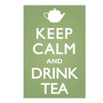 Keep Calm Drink Tea Postcards (Package of 8)