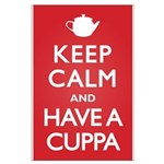 Keep Calm Have a Cuppa Large Poster