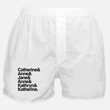 Wives of Henry VIII Boxer Shorts
