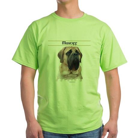 Mastiff 31 Green T-Shirt