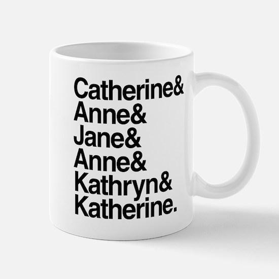 Wives of Henry VIII Mug