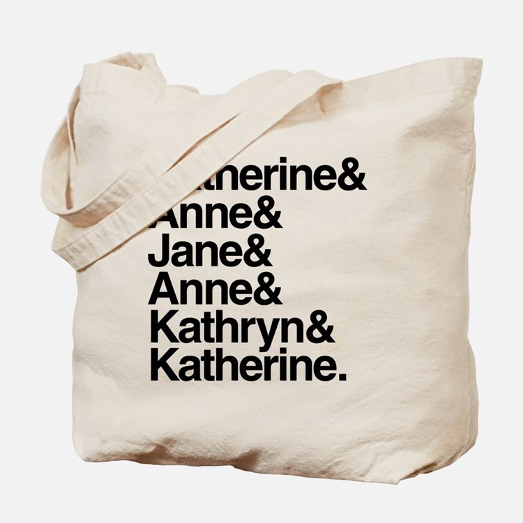 Wives of Henry VIII Tote Bag