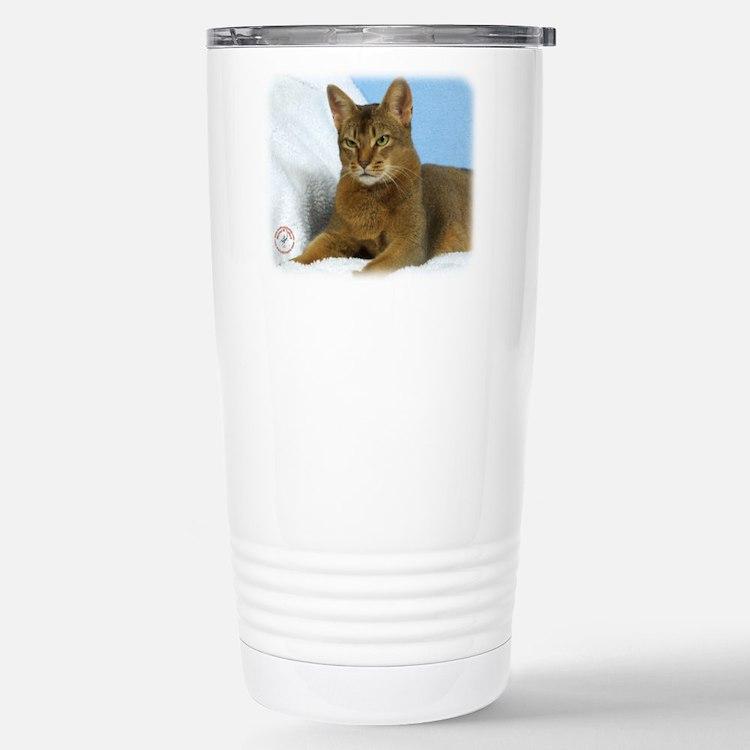 Abyssinian Cat 9Y009D-020 Travel Mug