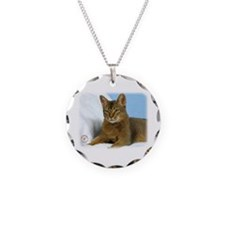 Abyssinian Cat 9Y009D-020 Necklace