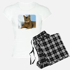 Abyssinian Cat 9Y009D-020 Pajamas