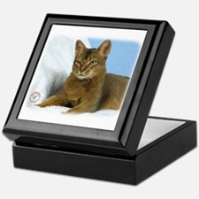 Abyssinian Cat 9Y009D-020 Keepsake Box