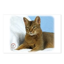 Abyssinian Cat 9Y009D-020 Postcards (Package of 8)