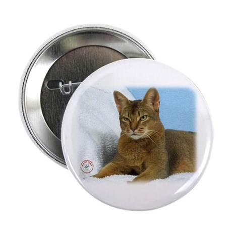 """Abyssinian Cat 9Y009D-020 2.25"""" Button (10 pack)"""