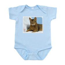 Abyssinian Cat 9Y009D-020 Infant Bodysuit