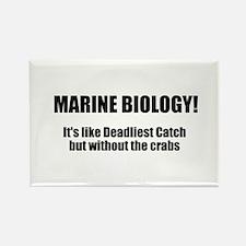 Marine Biology Rectangle Magnet