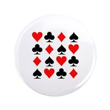 "Poker cards 3.5"" Button"