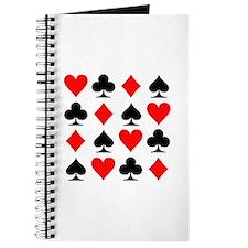 Poker cards Journal