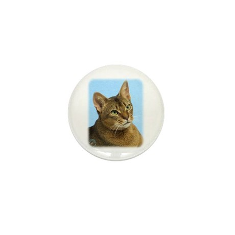 Abyssinian Cat 9Y009D-036 Mini Button