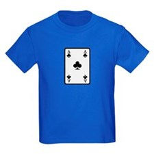 Poker card ace T