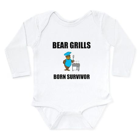 Bear Grills Long Sleeve Infant Bodysuit