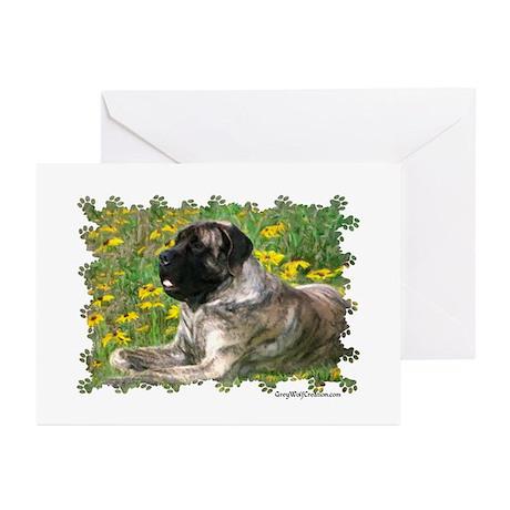 Mastiff 102 Greeting Cards (Pk of 10)