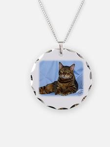 Bengal Cat 9W052D-018 Necklace