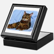 Bengal Cat 9W052D-018 Keepsake Box