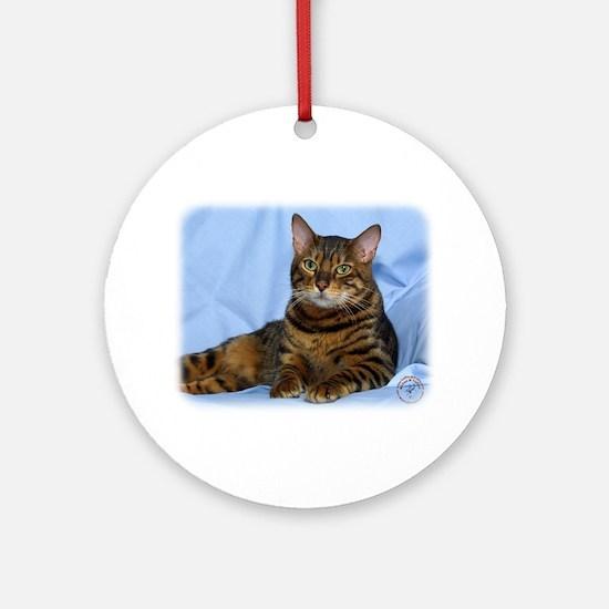 Bengal Cat 9W052D-018 Ornament (Round)