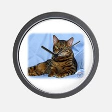 Bengal Cat 9W052D-018 Wall Clock