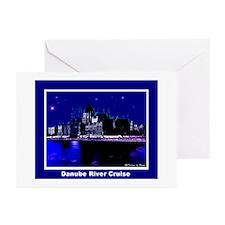 Danube River Cruise Greeting Cards (Pk of 10)