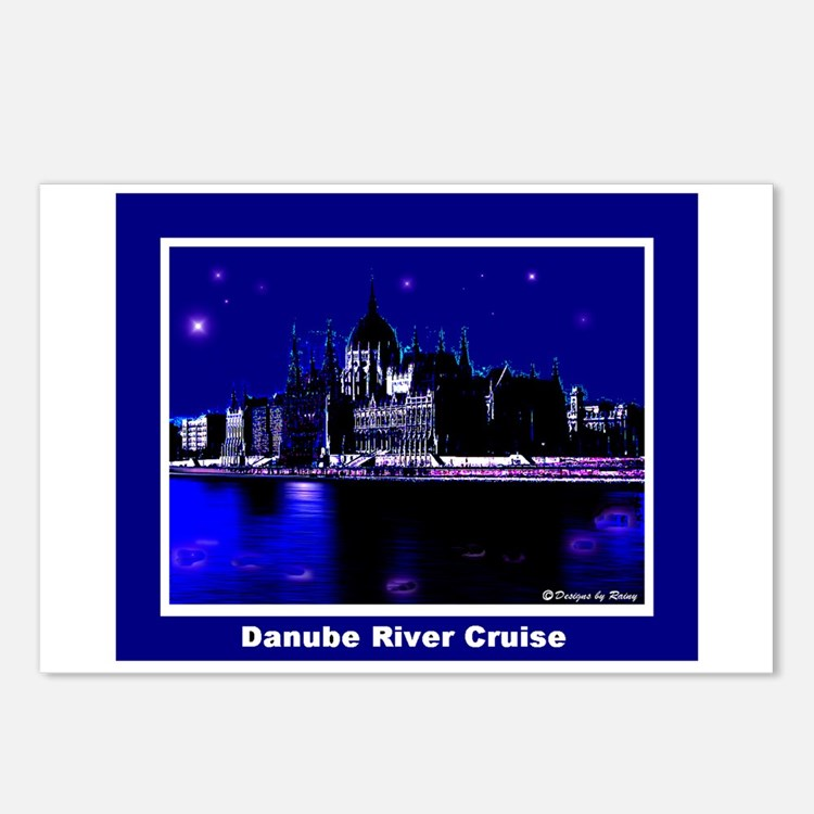 Danube River Cruise Postcards (Package of 8)