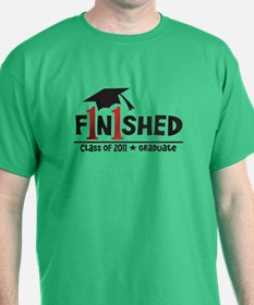 Finished! Graduation '11 T-Shirt