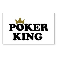 Poker king Decal