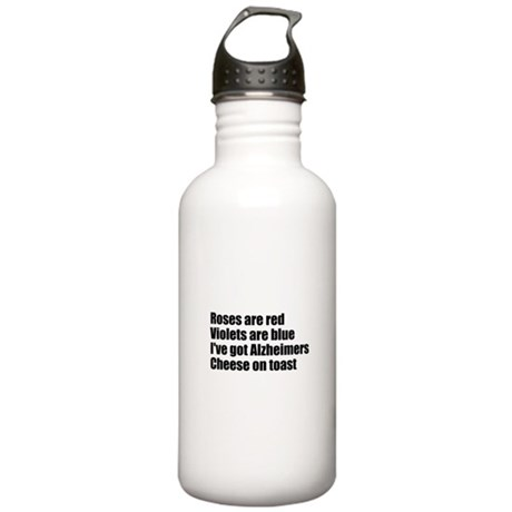 Alzheimers Stainless Water Bottle 1.0L