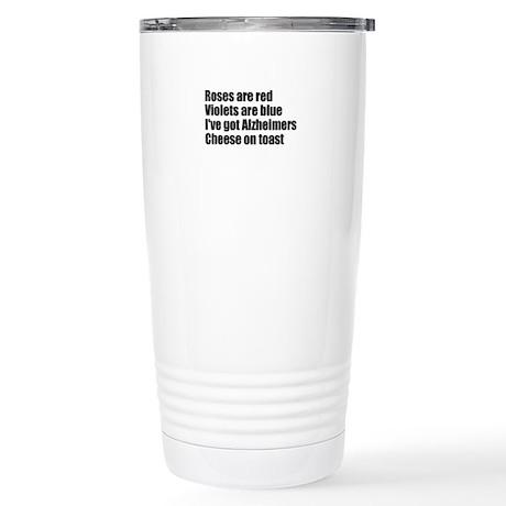 Alzheimers Stainless Steel Travel Mug
