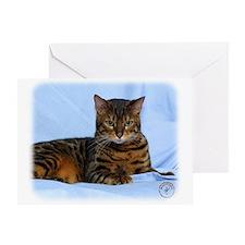 Bengal Cat 9W052D-023 Greeting Card