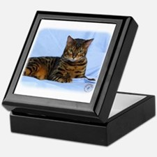 Bengal Cat 9W052D-023 Keepsake Box