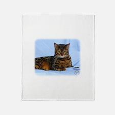 Bengal Cat 9W052D-023 Throw Blanket