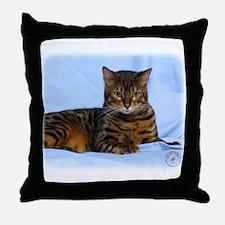 Bengal Cat 9W052D-023 Throw Pillow