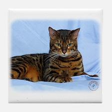 Bengal Cat 9W052D-023 Tile Coaster