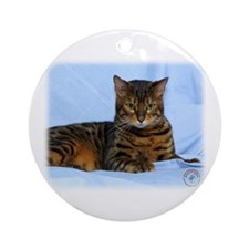 Bengal Cat 9W052D-023 Ornament (Round)