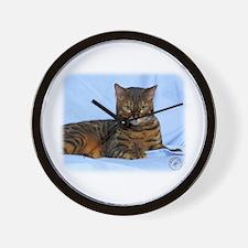 Bengal Cat 9W052D-023 Wall Clock