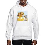Sunflowers-Yellow Lab 7 Hooded Sweatshirt