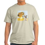 Sunflowers-Yellow Lab 7 Light T-Shirt