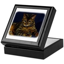 Bengal Cat 9W080D-128 Keepsake Box